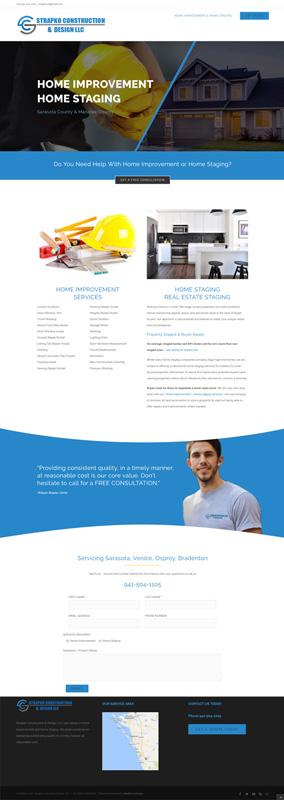 web design for Strapko CD