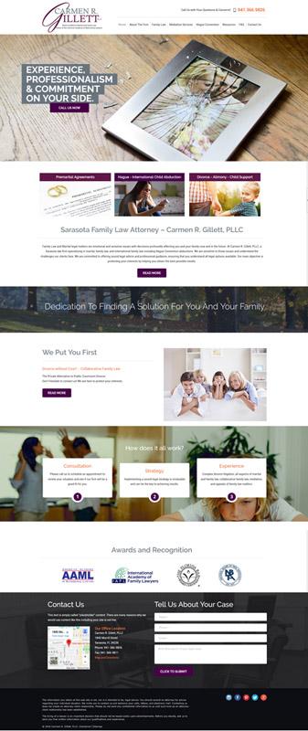 website development Carmen Gillett